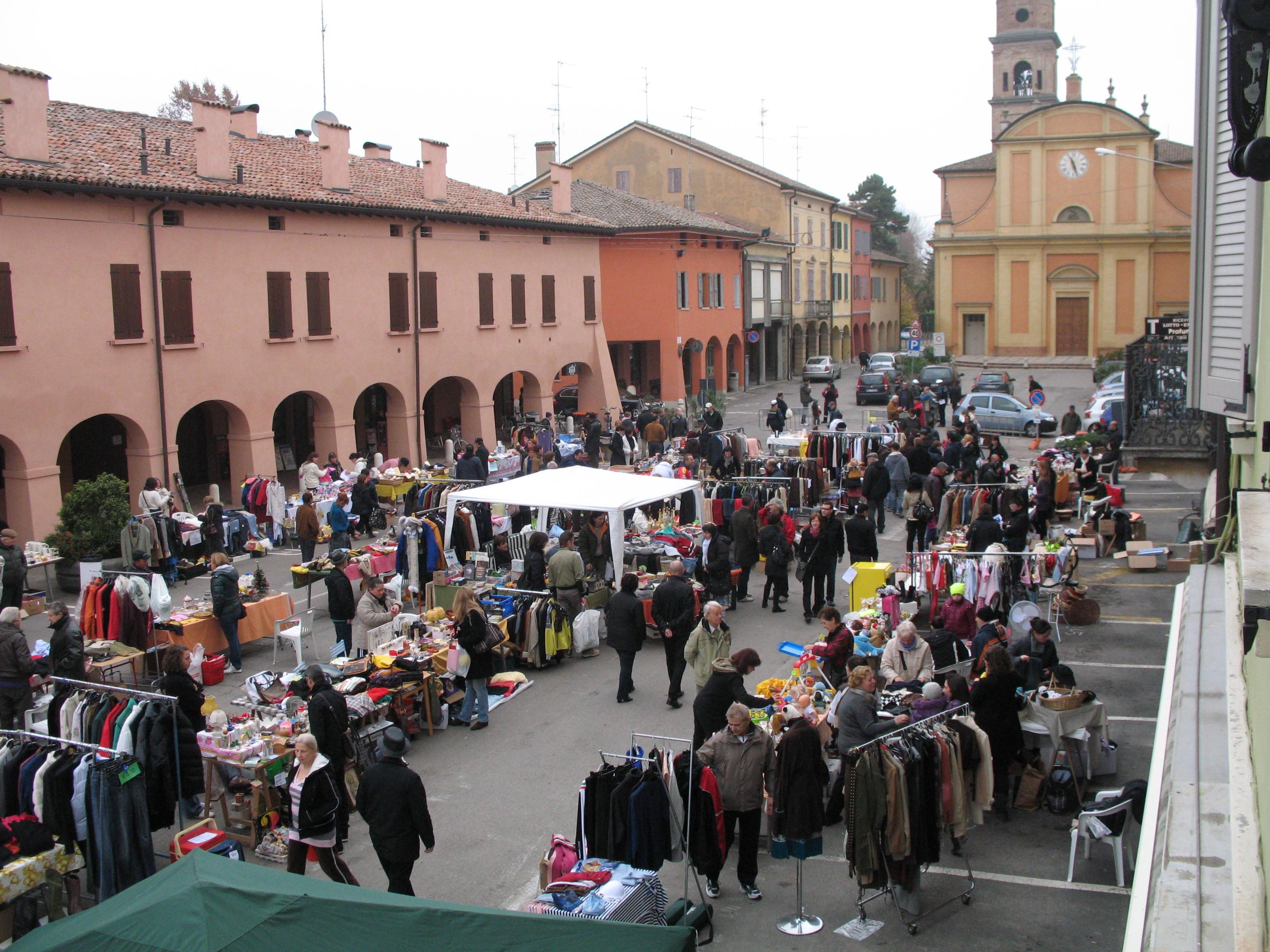 mercatino del riuso comune di campagnola emilia